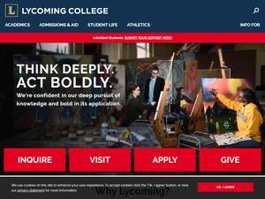 Lycoming College Screenshot