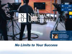 Neumann University's Website Screenshot