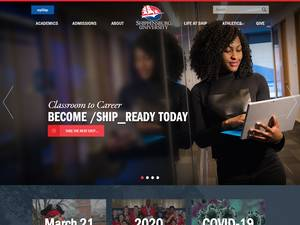 Shippensburg University of Pennsylvania's Website Screenshot