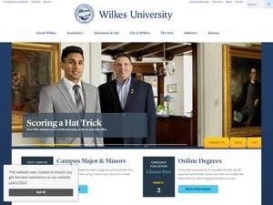 Wilkes University Screenshot