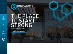 Dakota State University's Website Screenshot