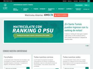 Santo Tomás University, Chile Screenshot