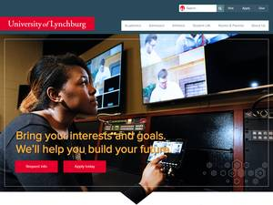 Lynchburg College's Website Screenshot