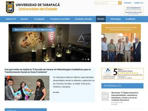 Universidad de Tarapacá Screenshot