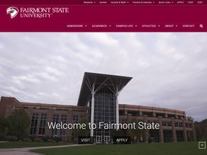Fairmont State University's Website Screenshot