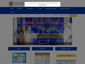 FEATI University's Website Screenshot