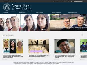University of Valencia Screenshot