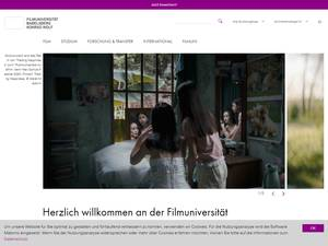 Konrad Wolf Film and Television University Screenshot