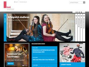 Rostock University of Music and Drama Screenshot
