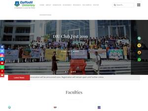 Daffodil International University | Ranking & Review
