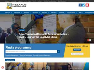 Midlands State University Screenshot