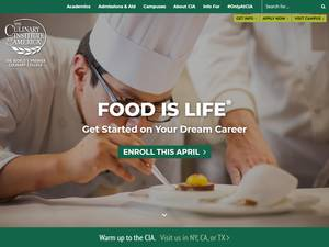 The Culinary Institute of America Screenshot