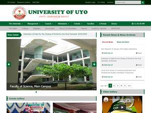 University of Uyo Screenshot