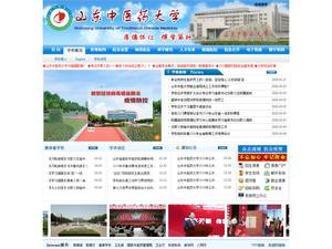 Shandong University of Traditional Chinese Medicine's Website Screenshot