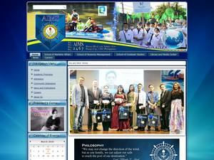 Asian Institute of Maritime Studies's Website Screenshot