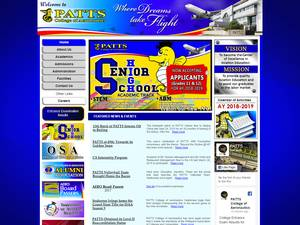PATTS College of Aeronautics Screenshot