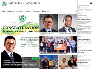 University of San Carlos Screenshot