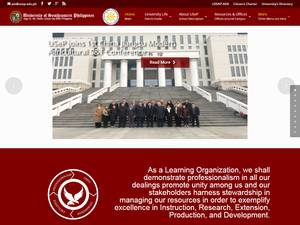 University of Southeastern Philippines's Website Screenshot