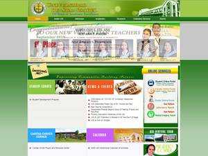 Universidad de Sta. Isabel's Website Screenshot