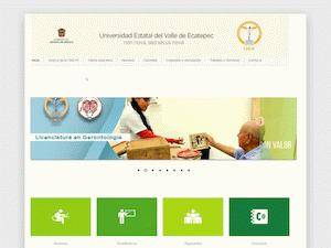 Universidad Estatal del Valle de Ecatepec Screenshot