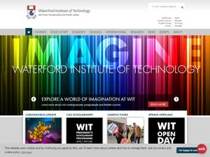 Waterford Institute of Technology's Website Screenshot