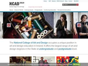 National College of Art and Design Screenshot