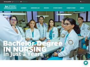 Ponce Health Sciences University's Website Screenshot