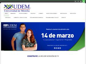 University of Morelia Screenshot