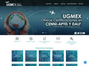 UGMEX's Website Screenshot