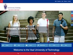 Vaal University of Technology Screenshot