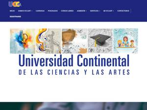 Continental University of Arts and Sciences Screenshot