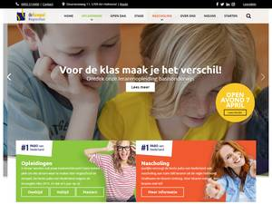 Hogeschool de Kempel's Website Screenshot
