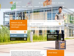 Hanze University of Applied Sciences, Groningen Screenshot