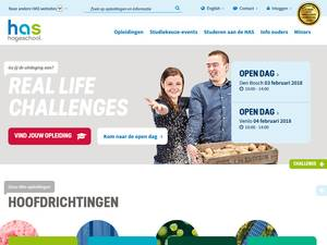 HAS Hogeschool Screenshot