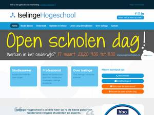 Iselinge Hogeschool Screenshot